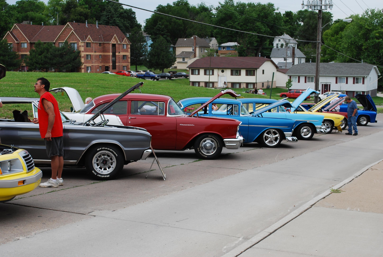 Car Show Hanscom Park Methodist Church Omaha NE - Omaha car show