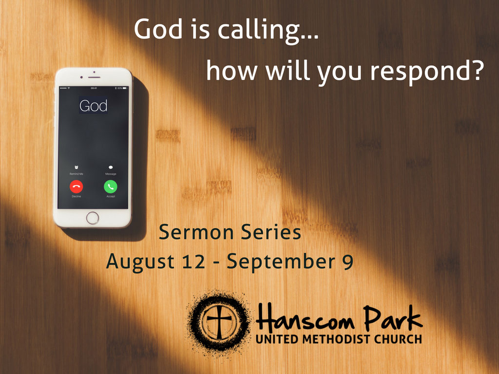 picture of phone with words god is calling how will you respond