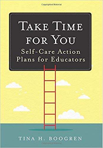 book cover for take time for you book