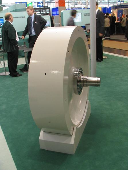 photo of a flywheel